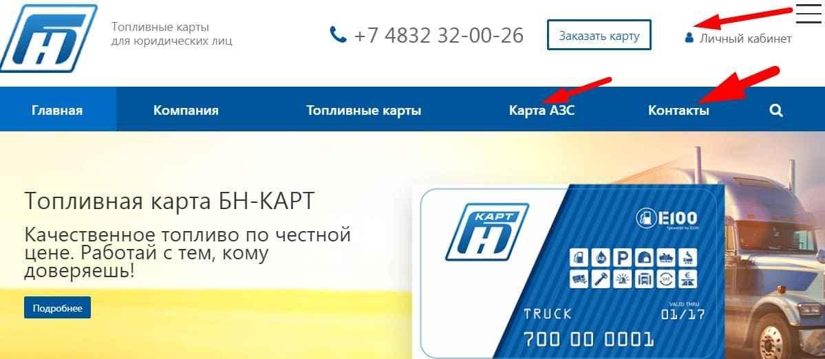 Телефон Бн Карт в Краснодаре