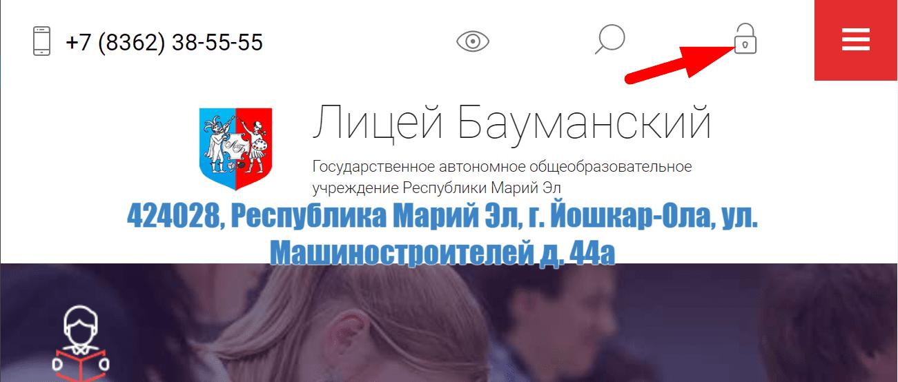 Сайт Бауманского Лицея
