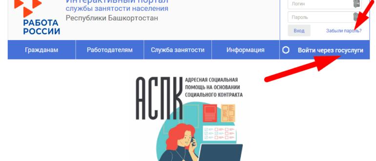 """Зарегистрироваться на интерактивном портале """"Работа Башкортостана"""""""