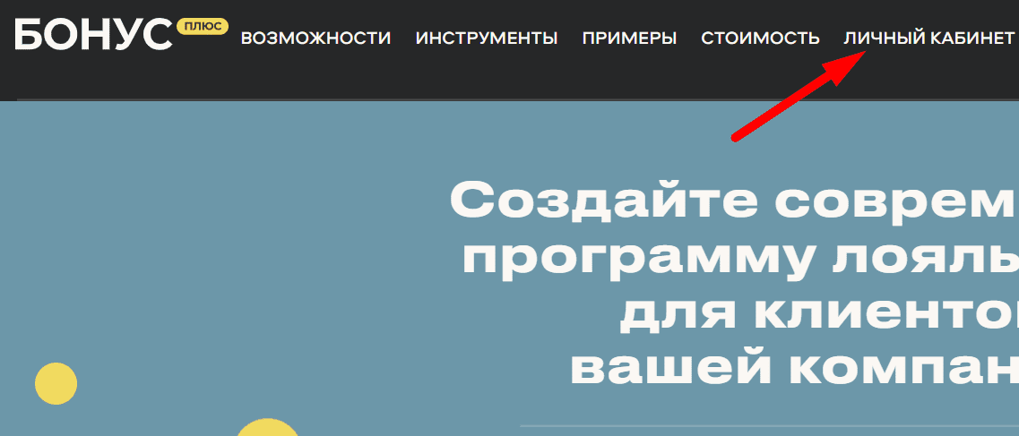 Ссылка на официальный сайт системы «Бонус Плюс»