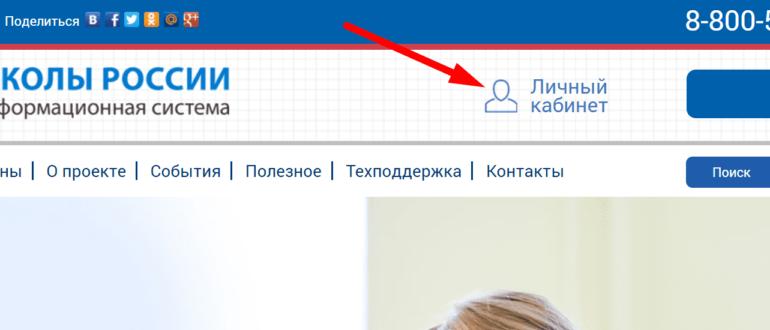 Сайт информационной системы «ШКОЛЫ РОССИИ»